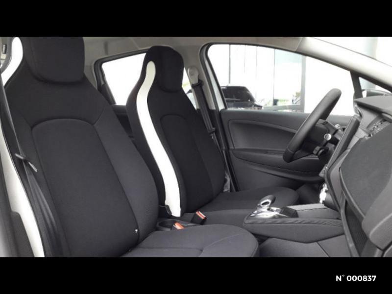 Renault Zoe Life charge normale R110 Achat Intégral 4cv Blanc occasion à Écuelles - photo n°6