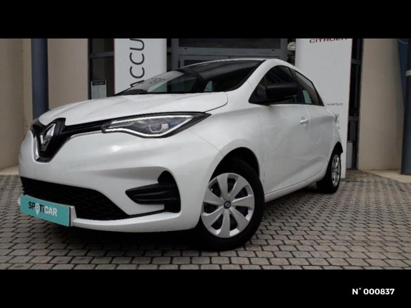 Renault Zoe Life charge normale R110 Achat Intégral 4cv Blanc occasion à Écuelles - photo n°3