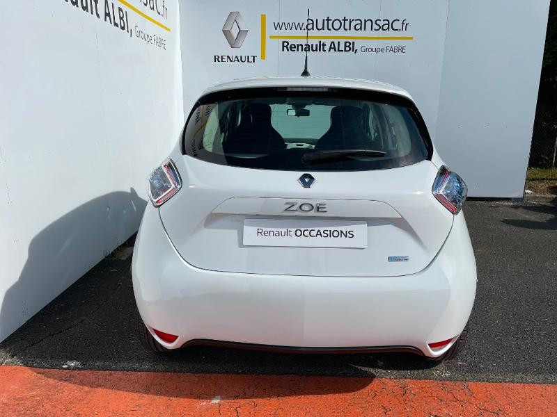 Renault Zoe Life charge normale R75 Blanc occasion à Albi - photo n°6