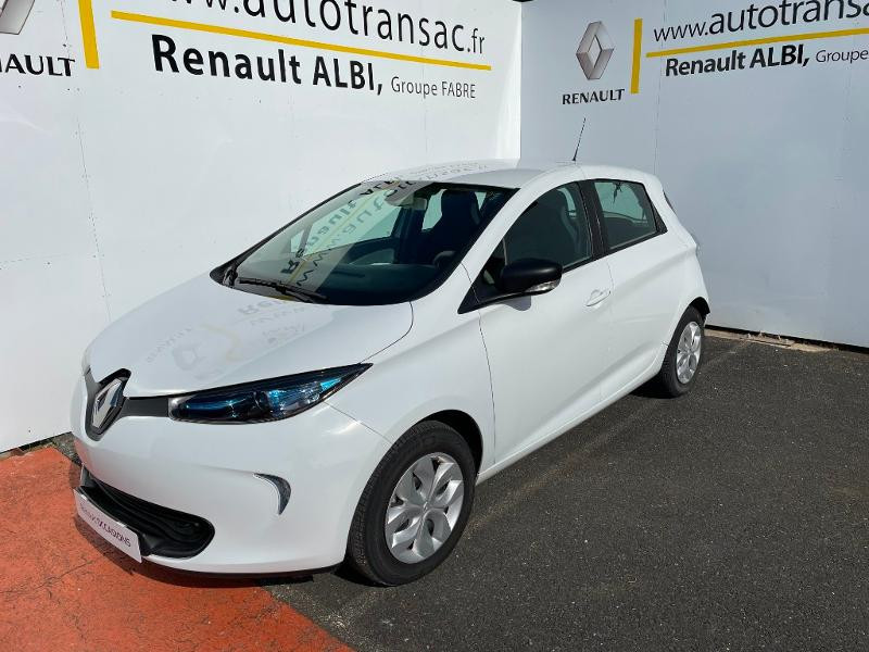 Renault Zoe Life charge normale R75 Blanc occasion à Albi