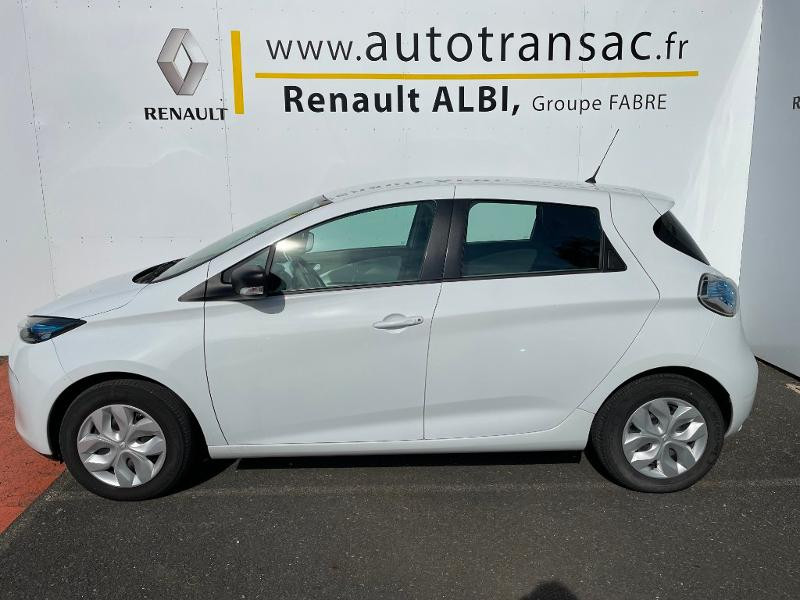 Renault Zoe Life charge normale R75 Blanc occasion à Albi - photo n°2