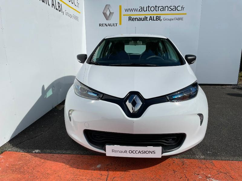 Renault Zoe Life charge normale R75 Blanc occasion à Albi - photo n°3