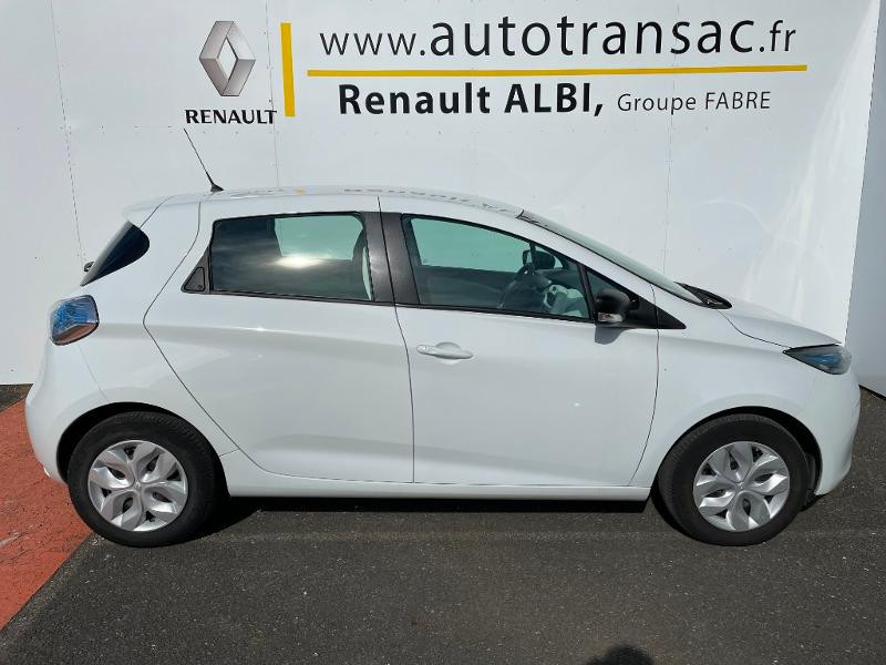 Renault Zoe Life charge normale R75 Blanc occasion à Albi - photo n°5