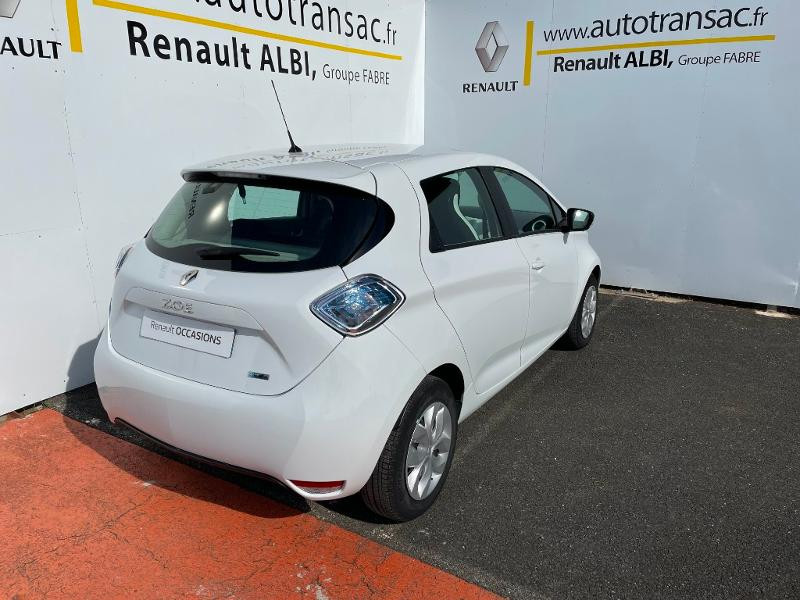 Renault Zoe Life charge normale R75 Blanc occasion à Albi - photo n°4