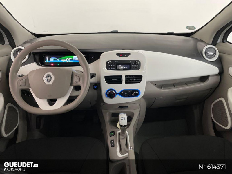 Renault Zoe Life charge normale R75 Blanc occasion à Rivery - photo n°10