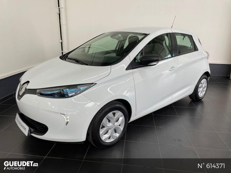 Renault Zoe Life charge normale R75 Blanc occasion à Rivery