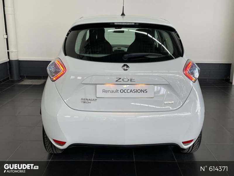 Renault Zoe Life charge normale R75 Blanc occasion à Rivery - photo n°3