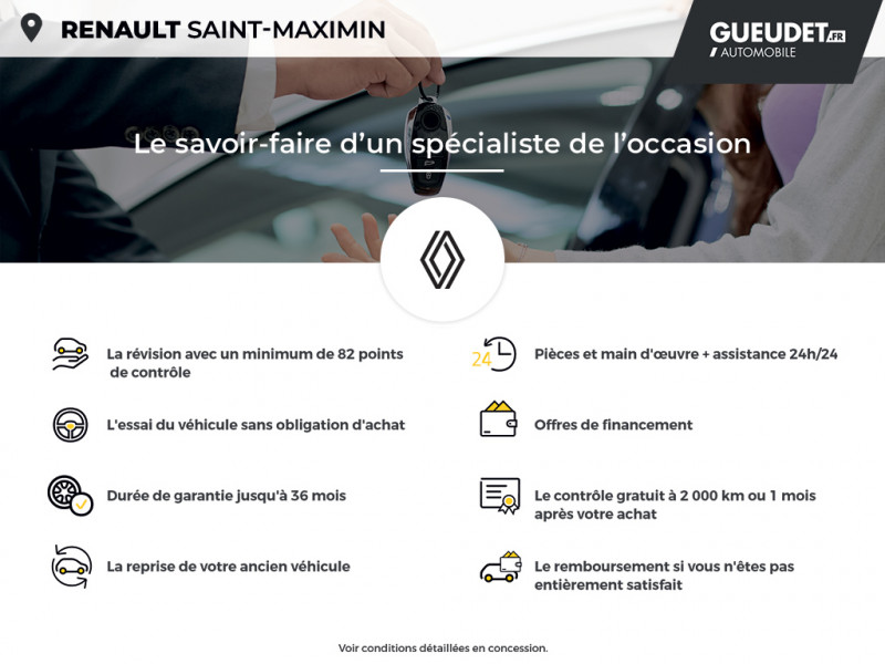 Renault Zoe Life charge normale R75 Blanc occasion à Saint-Maximin - photo n°17