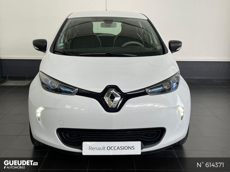 Renault Zoe Life charge normale R75 Blanc occasion à Rivery - photo n°2