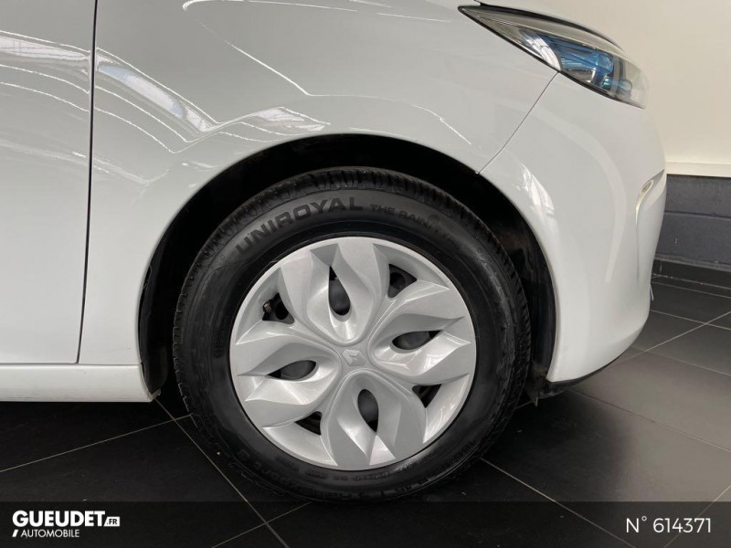 Renault Zoe Life charge normale R75 Blanc occasion à Rivery - photo n°9