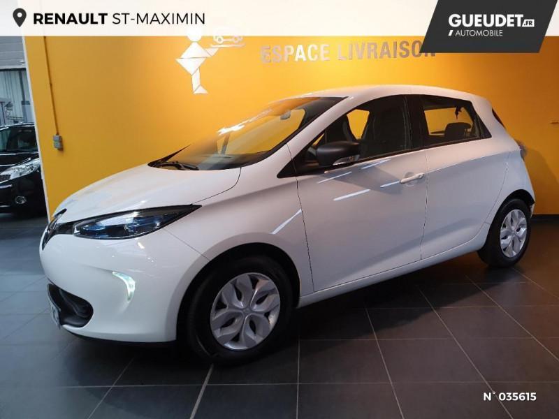 Renault Zoe Life charge normale R75 Blanc occasion à Saint-Maximin