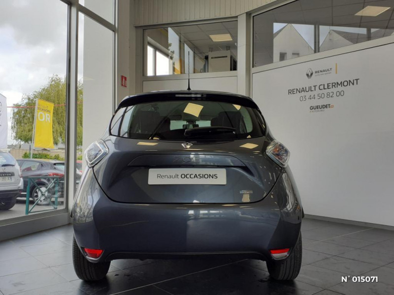 Renault Zoe Life charge normale R90 MY19 Gris occasion à Clermont - photo n°3