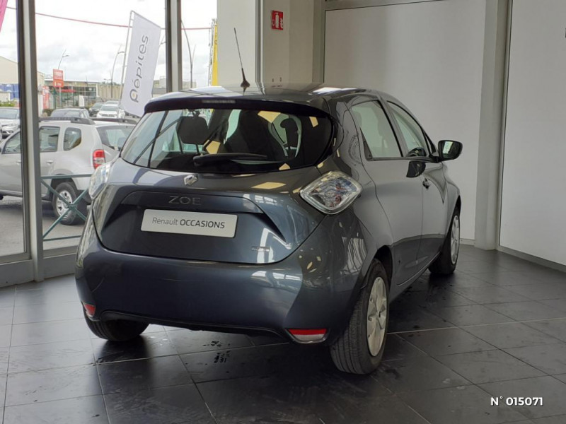 Renault Zoe Life charge normale R90 MY19 Gris occasion à Clermont - photo n°6