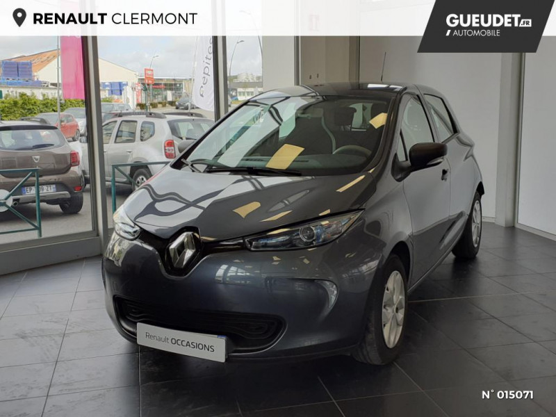 Renault Zoe Life charge normale R90 MY19 Gris occasion à Clermont