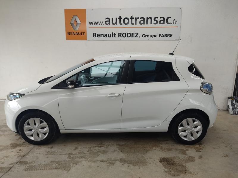 Renault Zoe Life charge rapide Blanc occasion à Rodez