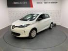 Renault Zoe Life Gamme 2017 Blanc à Mont de Marsan 40