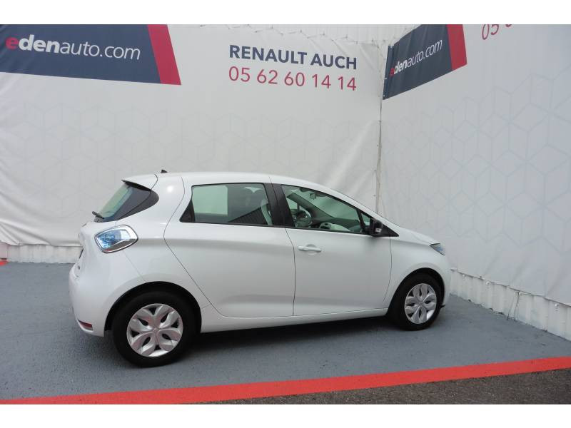 Renault Zoe Life Gamme 2017 Blanc occasion à Auch - photo n°2