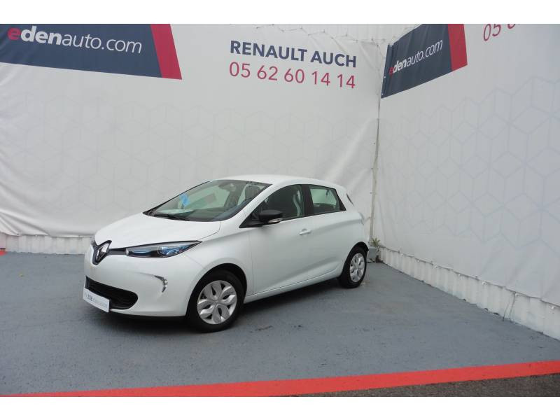 Renault Zoe Life Gamme 2017 Blanc occasion à Auch