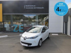 Renault Zoe Life Gamme 2017 Blanc à CHATEAULIN 29