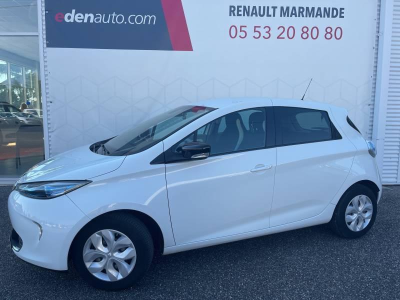Renault Zoe Life Blanc occasion à Sainte-Bazeille