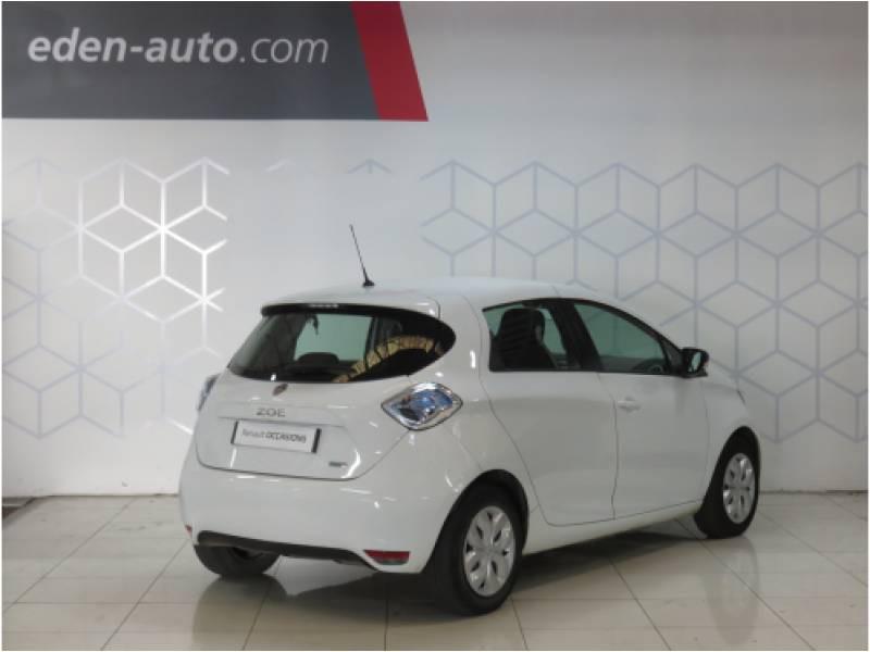 Renault Zoe Life Blanc occasion à BAYONNE - photo n°2
