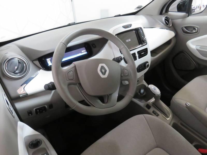 Renault Zoe Life Blanc occasion à BAYONNE - photo n°5