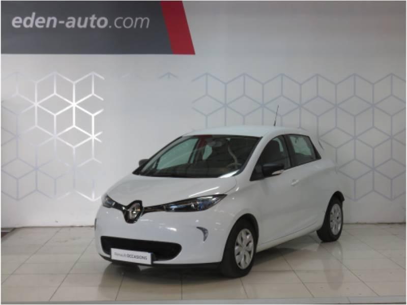 Renault Zoe Life Blanc occasion à BAYONNE