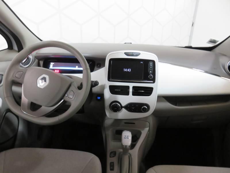 Renault Zoe Life Blanc occasion à BAYONNE - photo n°8