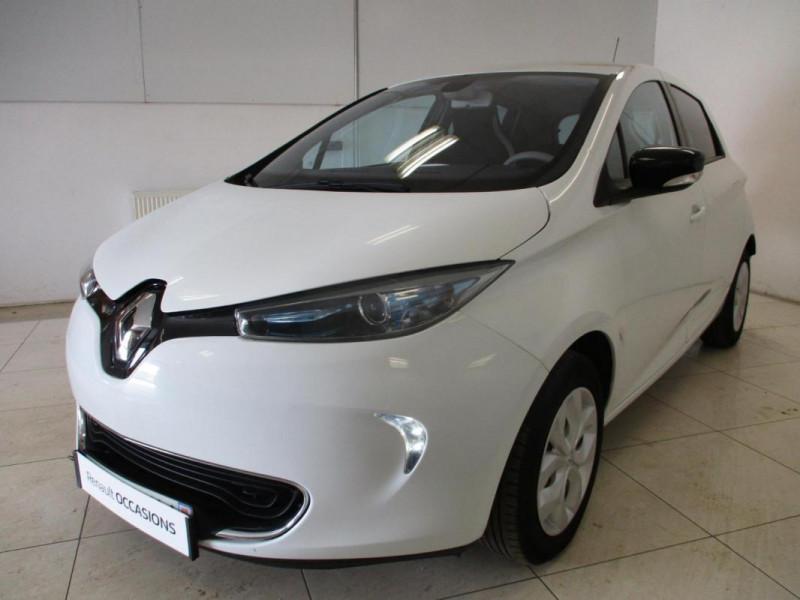 Renault Zoe Life Blanc occasion à CHERBOURG-EN-COTENTIN