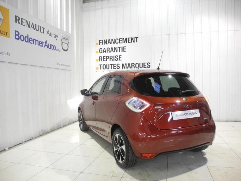 Renault Zoe Q90 Intens Rouge occasion à AURAY - photo n°4