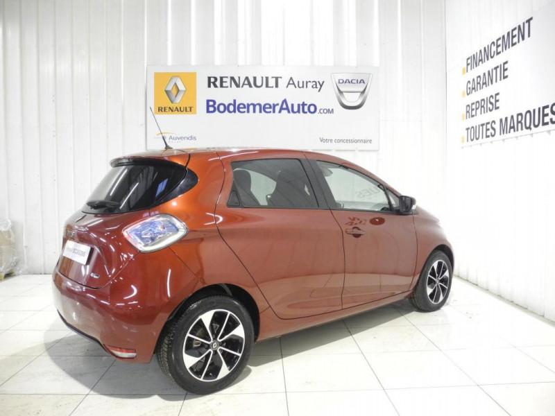 Renault Zoe Q90 Intens Rouge occasion à AURAY - photo n°3