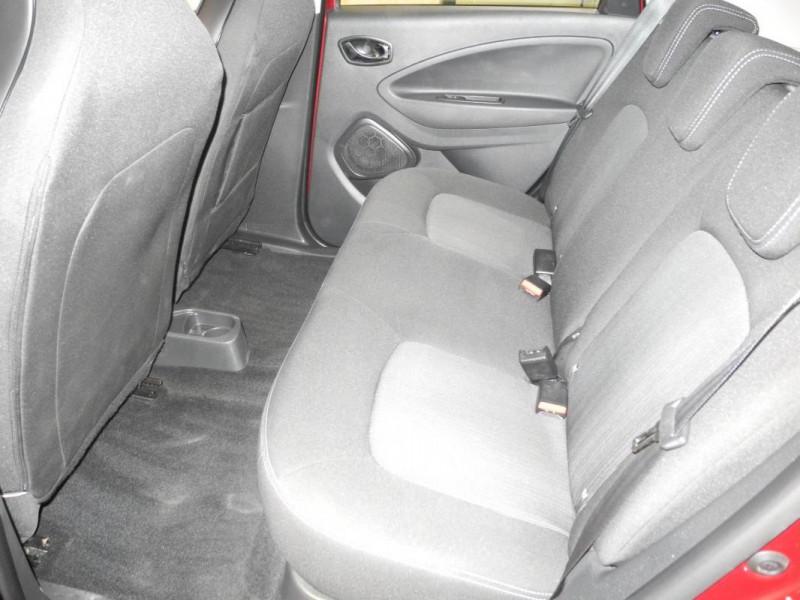 Renault Zoe Q90 Intens Rouge occasion à AURAY - photo n°8