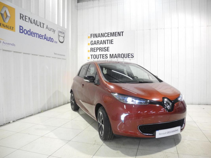 Renault Zoe Q90 Intens Rouge occasion à AURAY - photo n°2