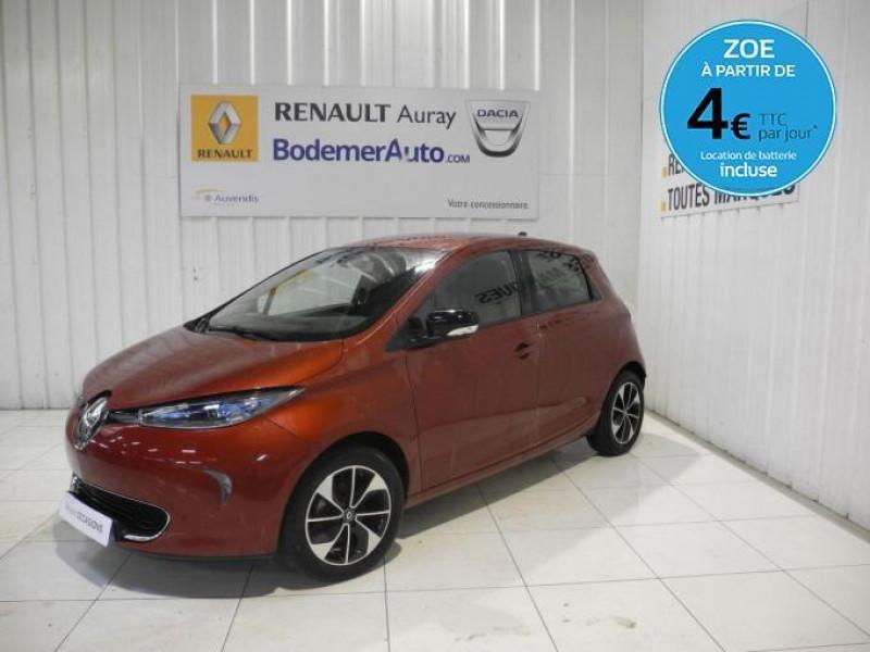Renault Zoe Q90 Intens Rouge occasion à AURAY
