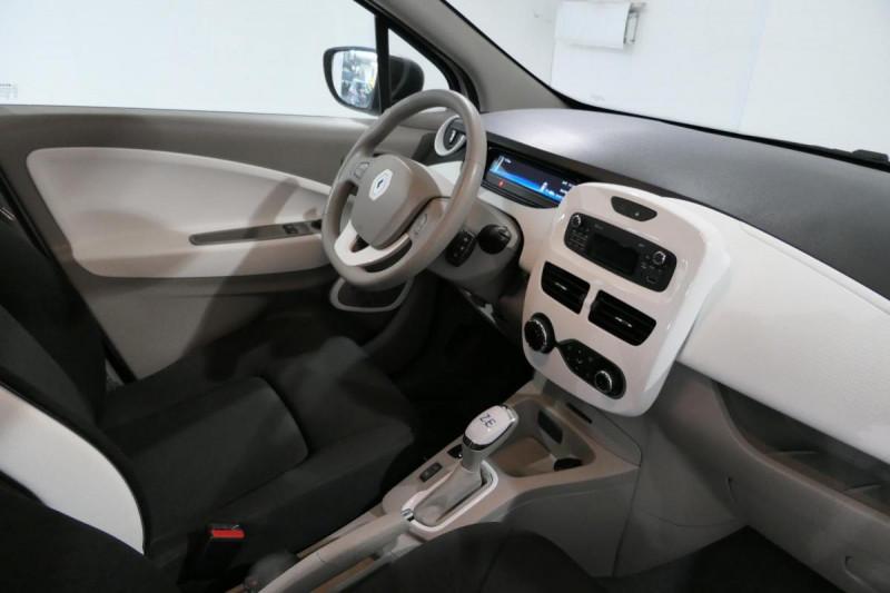 Renault Zoe Q90 Life Blanc occasion à LANNION - photo n°6