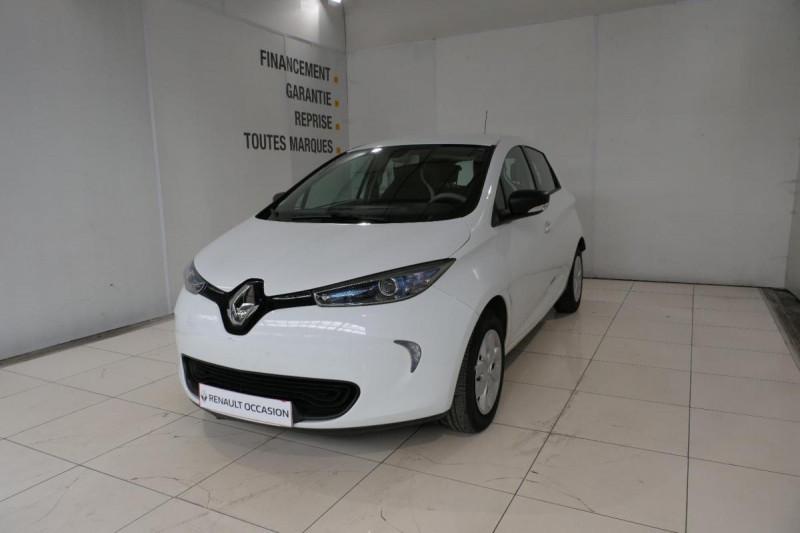 Renault Zoe Q90 Life Blanc occasion à LANNION