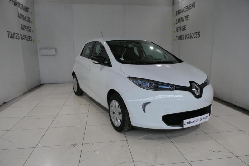 Renault Zoe Q90 Life Blanc occasion à LANNION - photo n°2