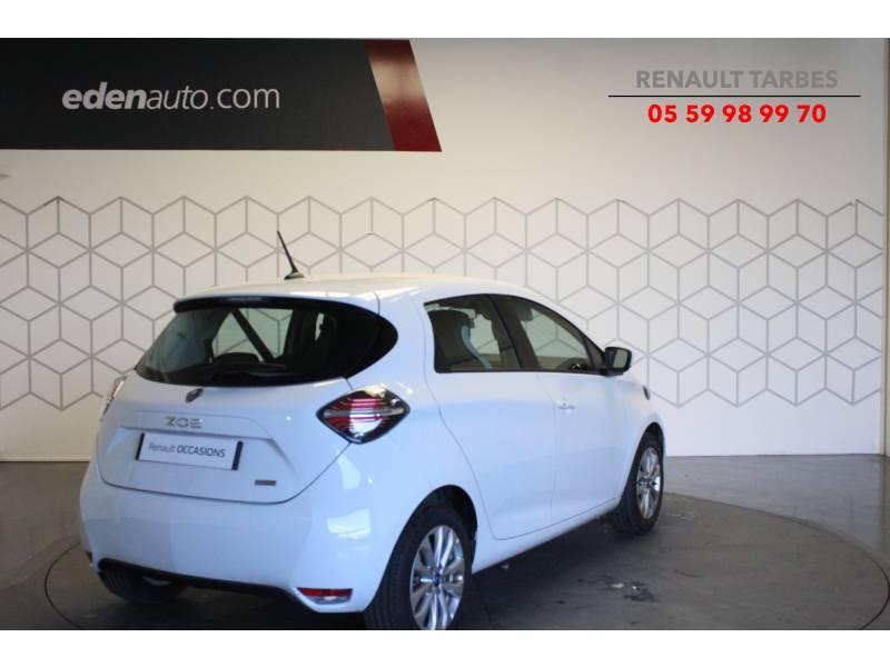 Renault Zoe R110 Zen Blanc occasion à TARBES - photo n°5