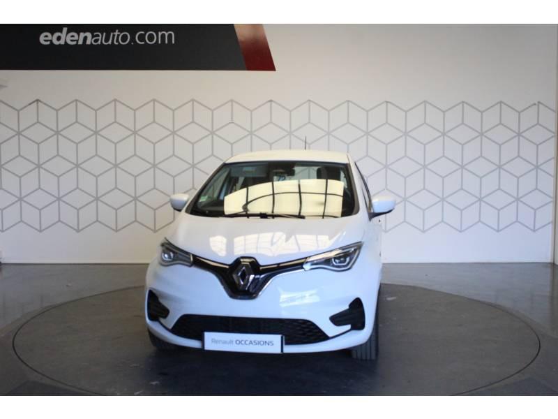 Renault Zoe R110 Zen Blanc occasion à TARBES - photo n°2
