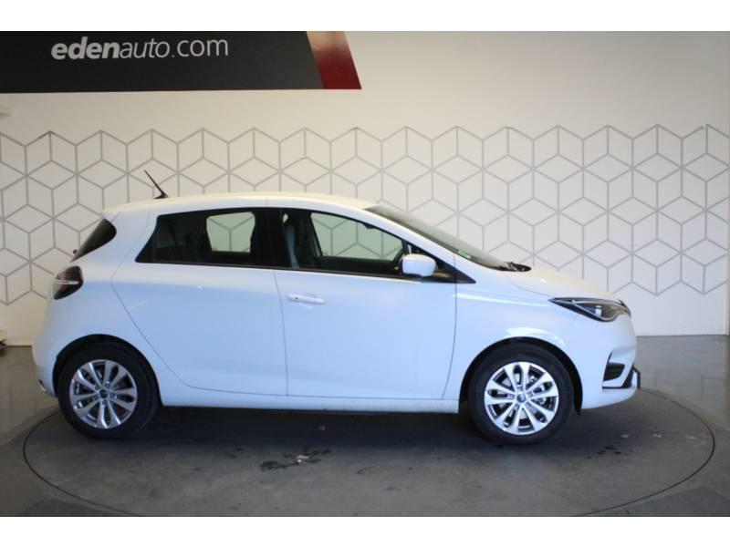 Renault Zoe R110 Zen Blanc occasion à TARBES - photo n°12