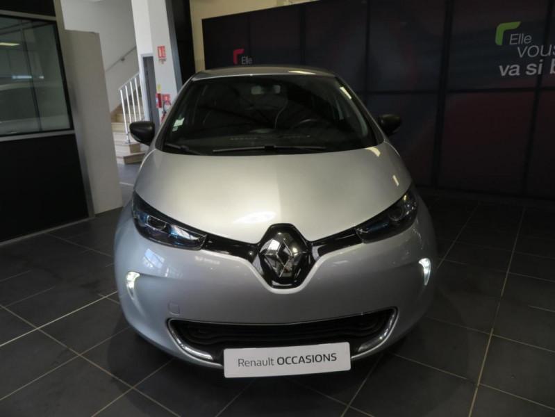 Renault Zoe R90 Business Gris occasion à QUIMPER - photo n°3