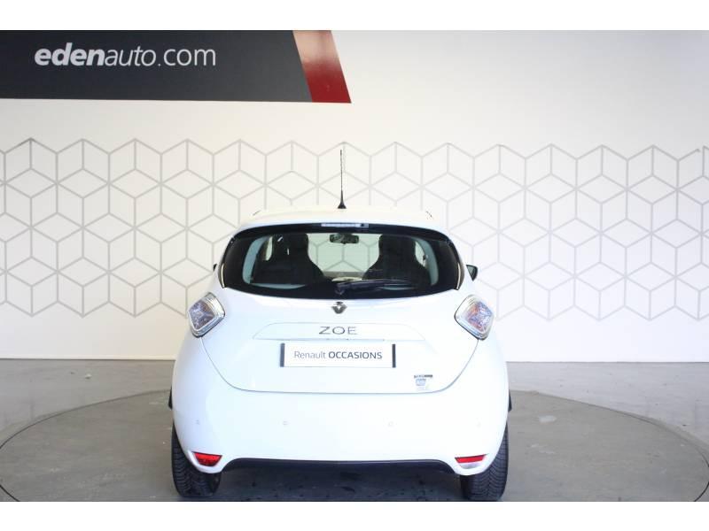 Renault Zoe R90 City Blanc occasion à TARBES - photo n°4
