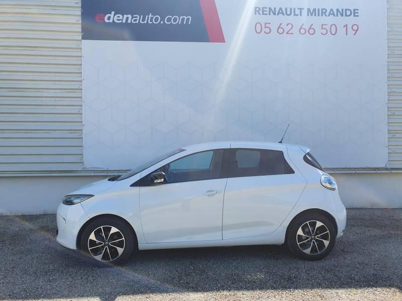 Renault Zoe R90 Intens Blanc occasion à Moncassin - photo n°2