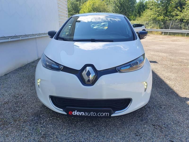 Renault Zoe R90 Intens Blanc occasion à Moncassin
