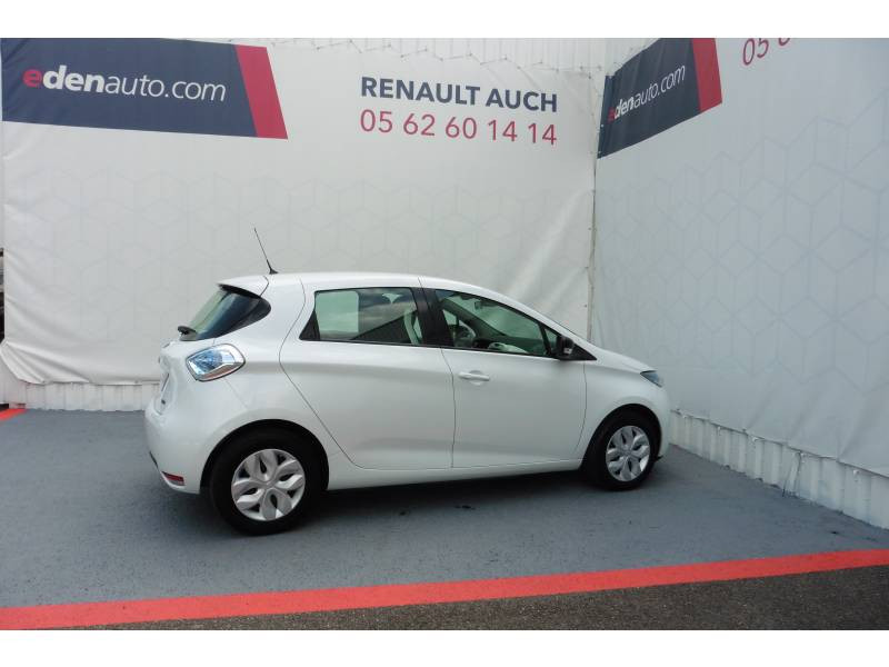 Renault Zoe R90 Life Blanc occasion à Auch - photo n°2