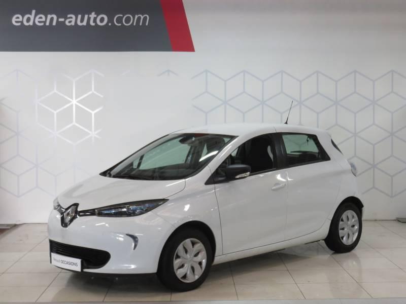 Renault Zoe R90 Life Blanc occasion à BAYONNE