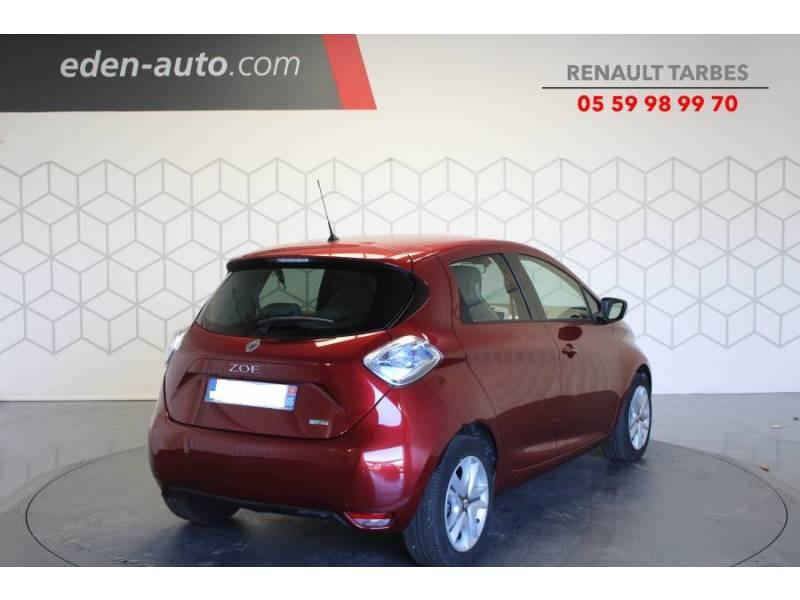 Renault Zoe R90 Zen Rouge occasion à TARBES - photo n°5