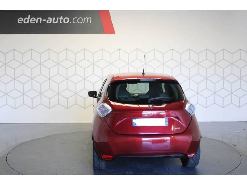 Renault Zoe R90 Zen Rouge occasion à TARBES - photo n°4