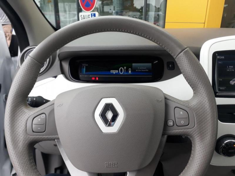 Renault Zoe R90 Zen Blanc occasion à LAMBALLE - photo n°5