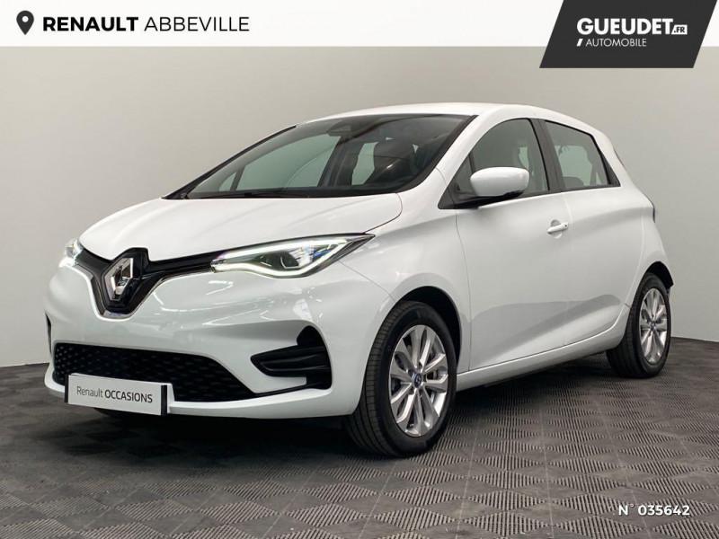 Renault Zoe Zen charge normale R110 Achat Intégral - 20 Blanc occasion à Abbeville